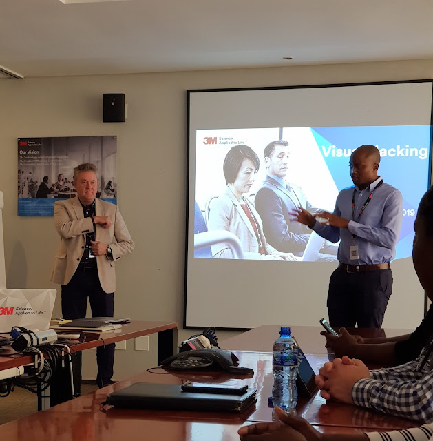 @3M Sets Out to Heighten Awareness of #VisualHacking #PrivacyFilters #SouthAfrica