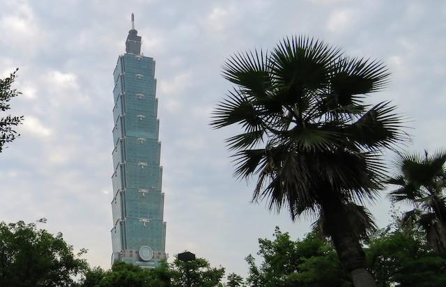 One week in Taiwan: Taipei 101