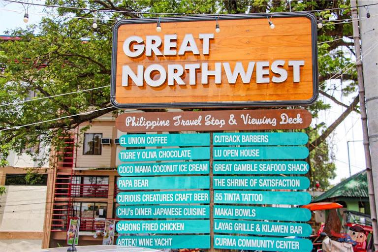 Great Northwest trendy food park in La Union
