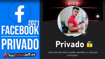 poner facebook privado