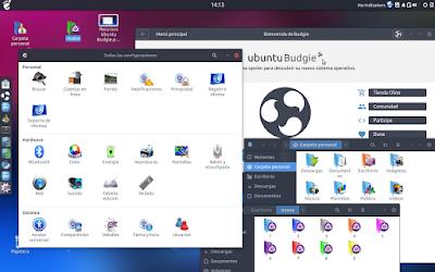 Trasuntu-iconos-2.0-all en Ubuntu Budgie