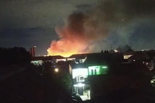 Asrama Mako Brimob Terbakar, 7 Barak Hangus Dilalap Si Jago Merah