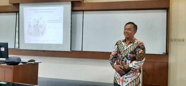 Workshop Membangun Institutional  Repository Berbasis Cloud Computing