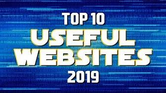 Most Useful Websites 2019