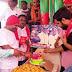पूर्व मुख्यमंत्री उ० प्र० का जन्मदिन मनाया गया