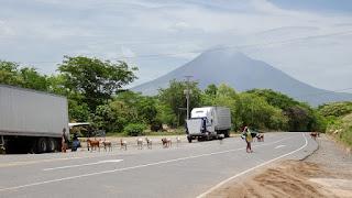 Momotombo arrival