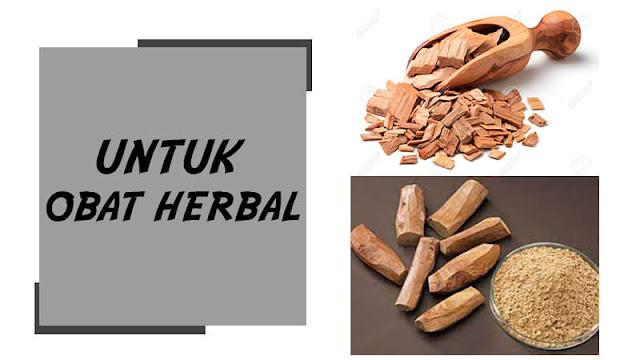kayu cendana sebagai obat herbal