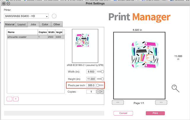 Sublimation Printing, Sawgrass Printers, Sublimation Printer, Business Edition, Silhouette Studio