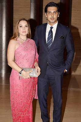 zayed-khan-and-wife-attended-mandana-karimis-wedding-reception