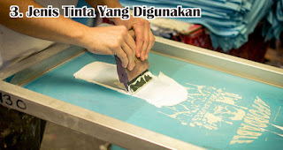 Jenis Tinta Yang Digunakan harus diperhatikan saat memilih kaos sablon