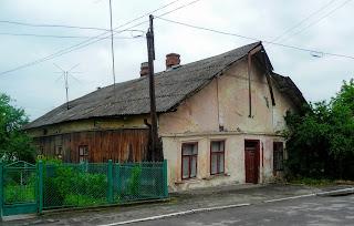 Ходорів. Старий будинок по вул. Богдана Хмельницького