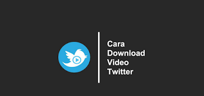 Cara Download Video Dari Twitter Lewat Hp Android atau Iphone