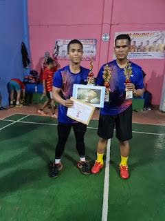 Mantap! Kasat Lantas Polres Gowa Sabet Gelar Juara Di Kejuaraan Bulu Tangkis Kalegowa CUP
