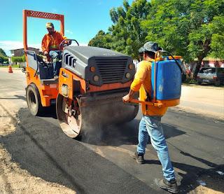 Prefeitura intensifica manutenção e preservação das vias públicas de Chapadinha-MA