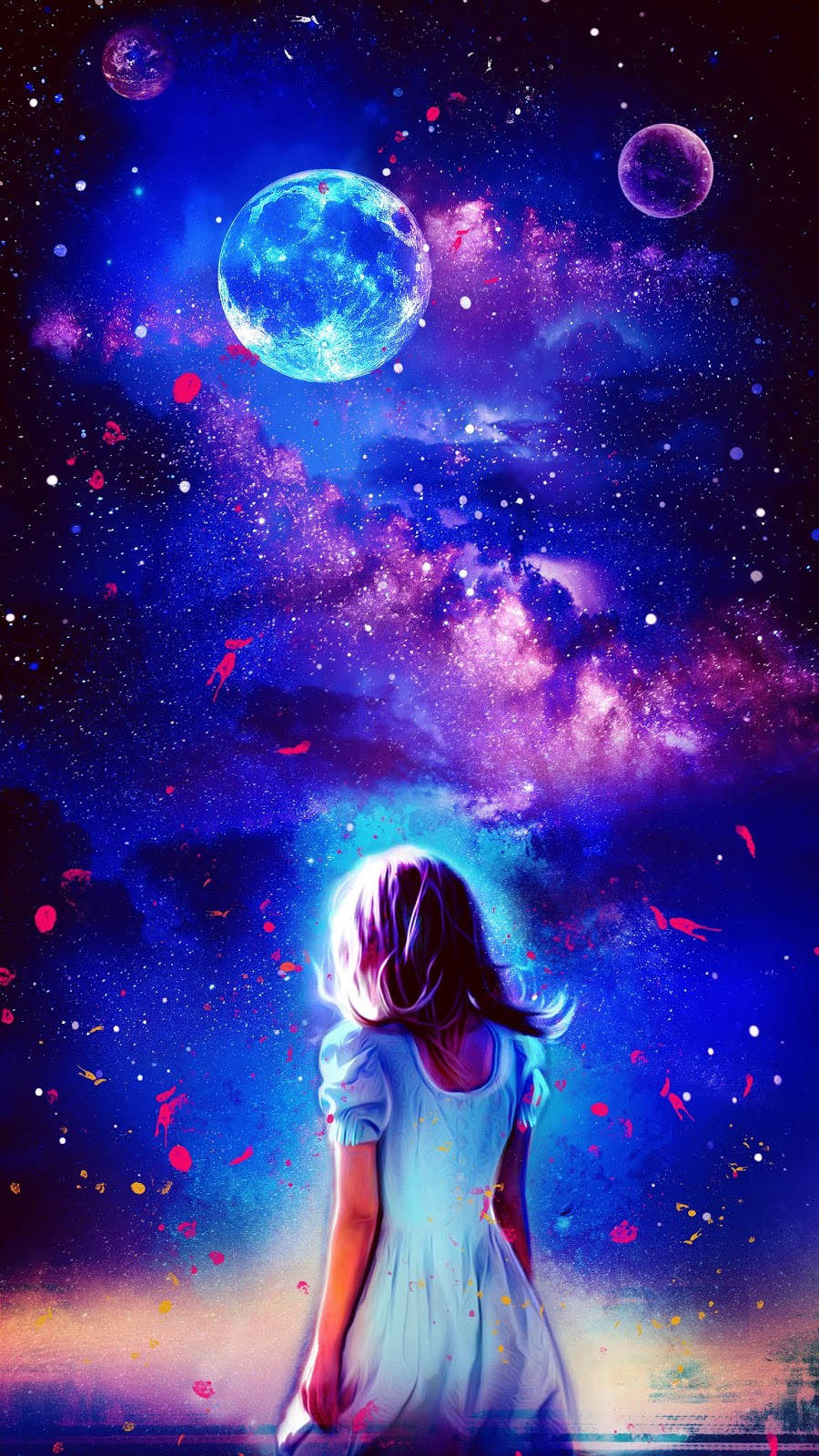Vivid starry night