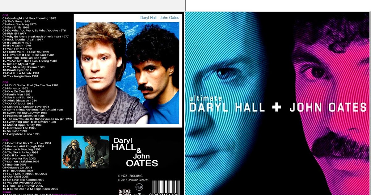 Hall and oates singles collection