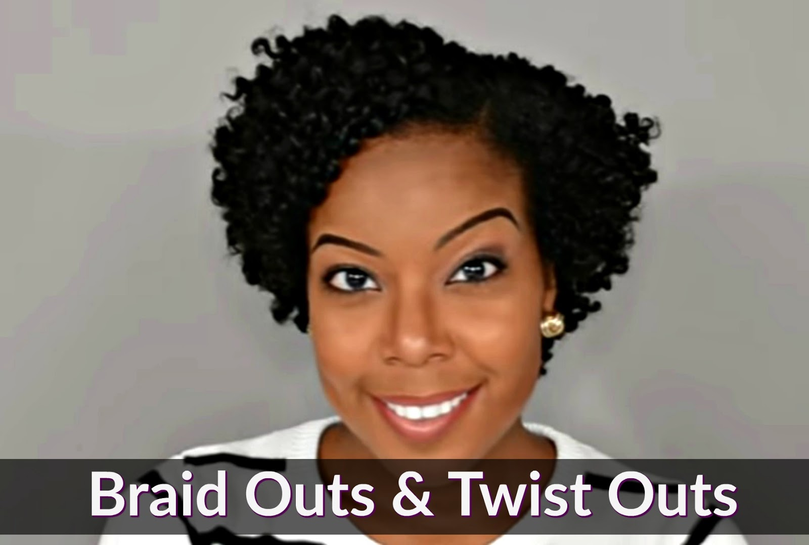 Easy Natural Hair Twist Outs
