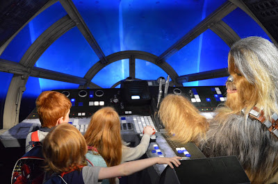 Madame Tussauds London including Star Wars,  A Review - Flying the Millennium Falcon with Chewbacca