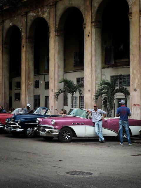 vintage cars, old Havana