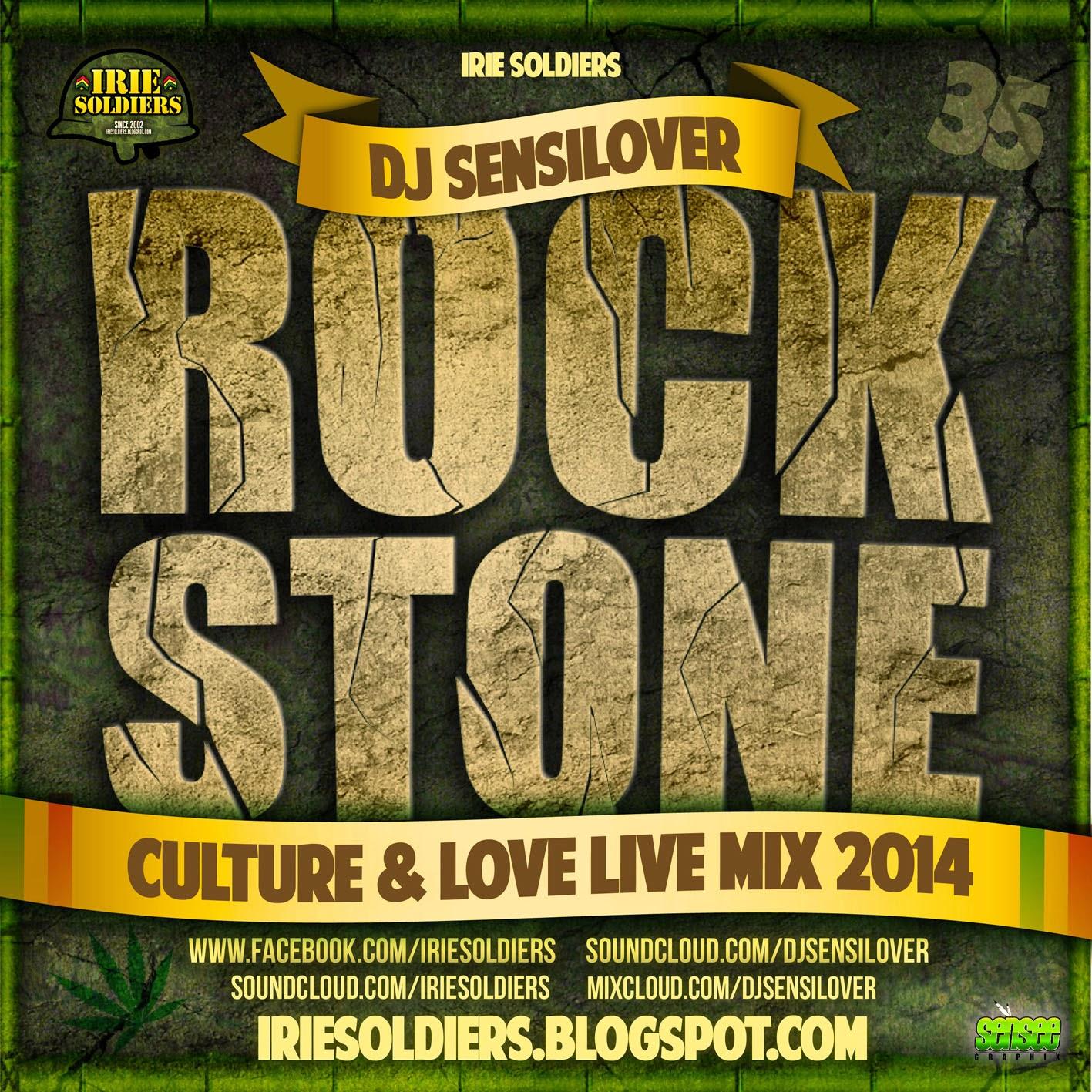 ROCKSTONE ✨ #35 Culture&Love Live Mix Sept 2014 DJSENSILOVER | IRIE