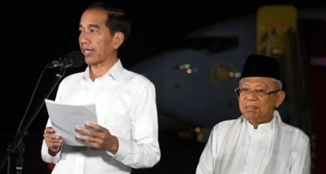 Jokowi Berharap Masyarakat Takut Kepada Allah dan Api Neraka