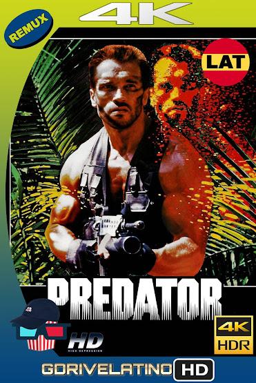 Depredador (1987) BDRemux 4K HDR Latino-Ingles MKV