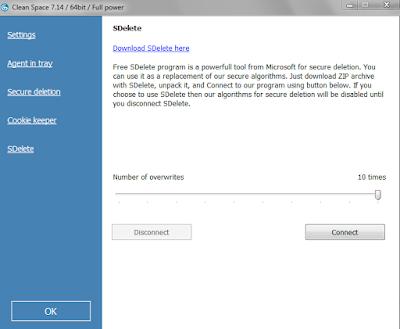 Screenshot Clean Space Pro 7.14 Full Version