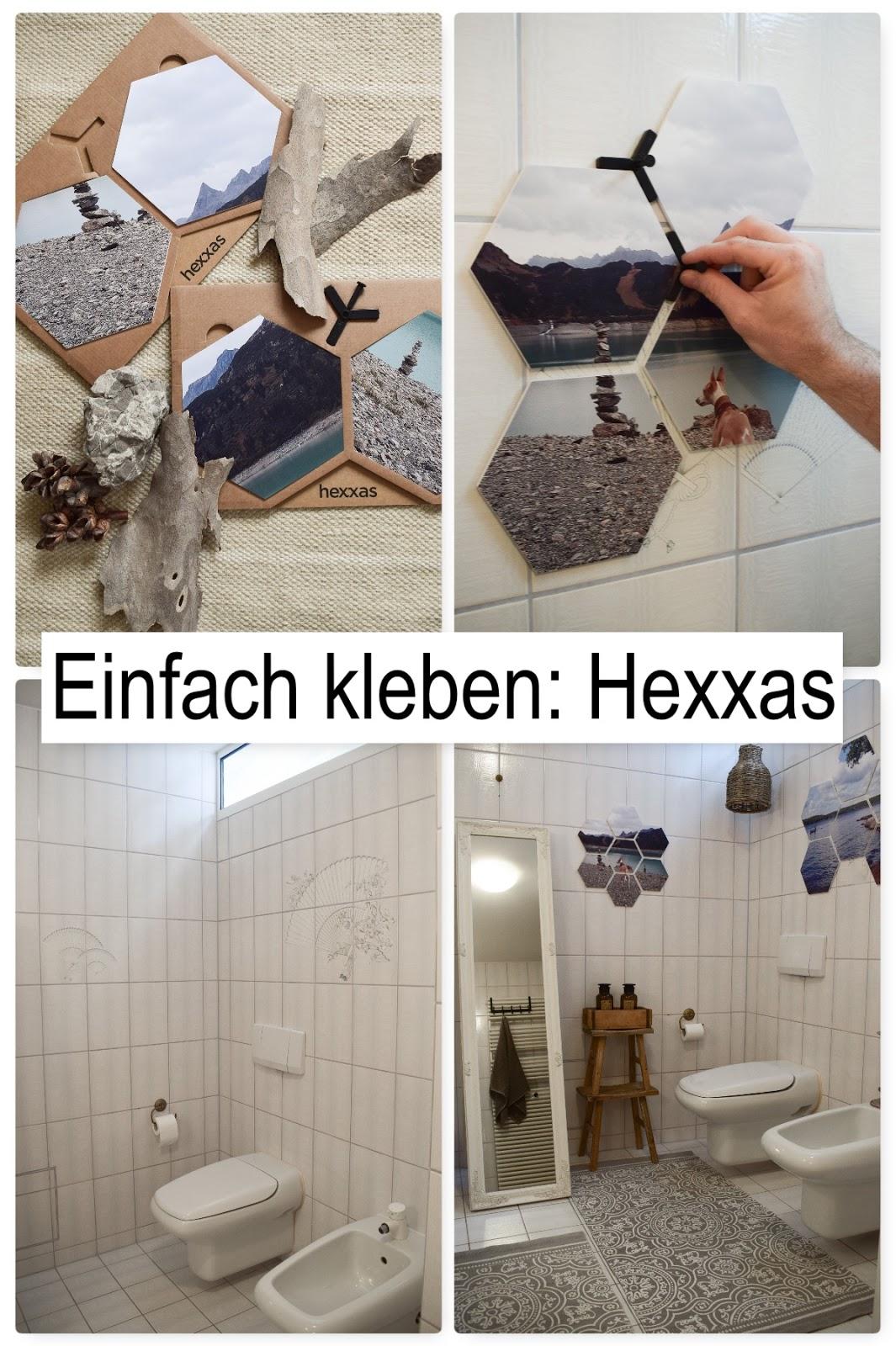 So geht es: Wandgestaltung mit hexxas von Cewe. Einfach Bild auswählen und an die Wand kleben. Wanddeko für Diele, Badezimmer, Esszimmer, Wohnzimmer, Schlafzimmer. Individuelle Dekoidee mit Hexagonen. hexxa Deko für deine Wände. Selber machen