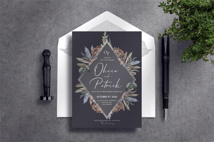 Deluxe Wedding Invitation
