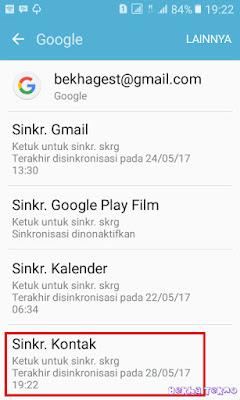 google kontak 3