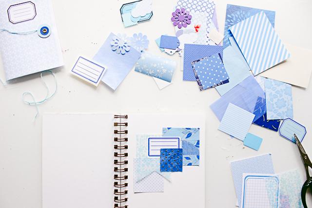 Art Journal Papiercollage - Janna Werner