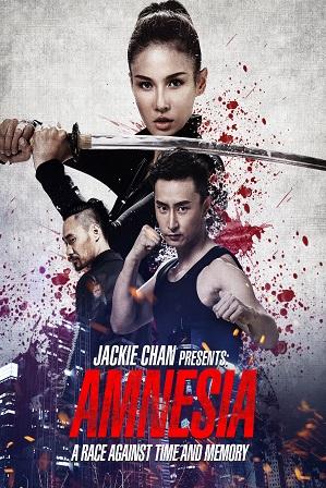 Jackie Chan Presents: Amnesia (2015) 300MB Full Hindi Dual Audio Movie Download 480p Web-DL