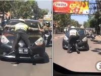 Siapa Brigadir Yang Viral Di Atas Mobil? Berikut Ulasannya