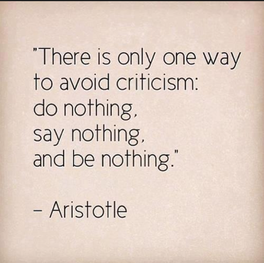 Criticism Quotes: Famous Sayings, Quotes From Famous People