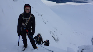 University club winter skills and winter mountaineering at Cairngorm