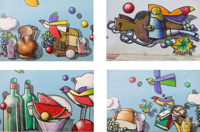 Murales de Manuel Sierra de Mucientes
