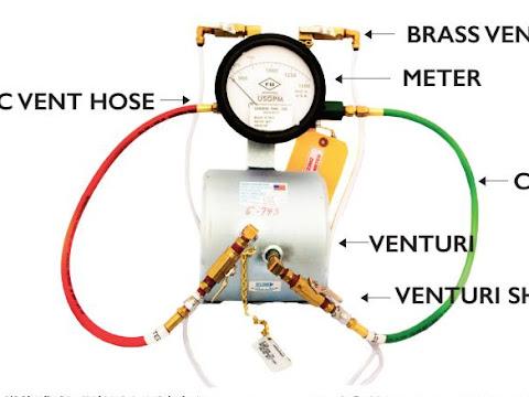 Fire Pump Test Meter Instructions