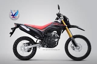 Warna Terbaru CRF150l Extreme Black