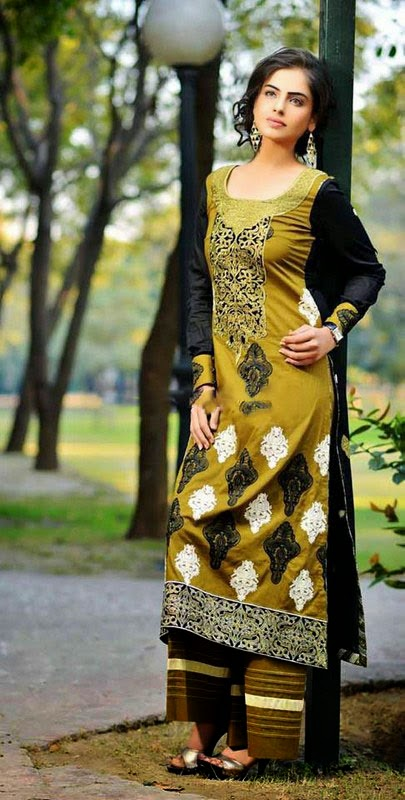 Parisha Dresses Rujhan Fabric green designer plazo