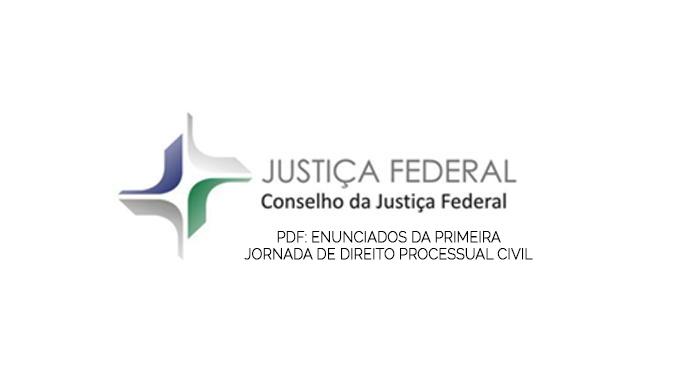 E-book: Enunciados da I jornada de direito processual civil