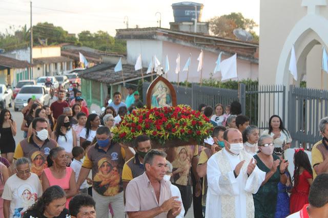 COBERTURA: Sítio Goiabeira, festeja sua padroeira, Mãe Rainha