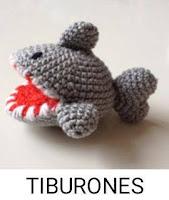 PATRONES TIBURONES AMIGURUMI