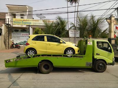 jasa towing mobil murah