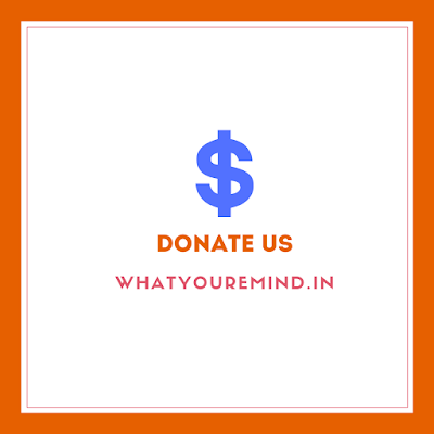 Donate WhatYouRemind  best hindi blog