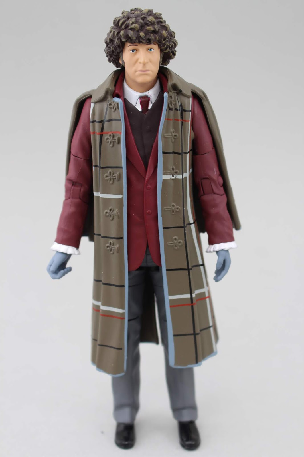 """4TH FOURTH DOCTOR WHO THE TALONS OF WENG-CHIANG OUTFIT 5/"""" CLASSIC FIGURE B/&M"""