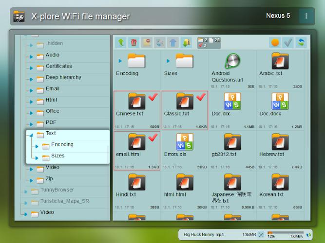 X-plore File Manager Screenshot 02