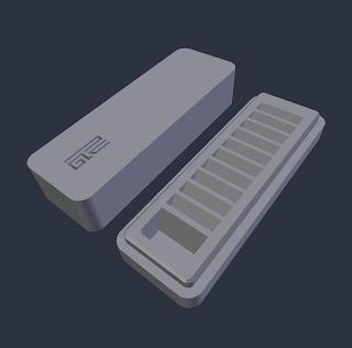 SD Card Holder (Clean) STL file by Paul Van Gaans