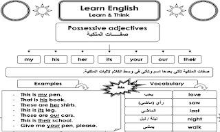 أفضل مذكرة لتأسيس الأطفال في اللغة الانجليزية مجاناً