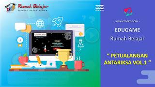 ARNAIM.COM - EDUGAME! PERMAINAN INTERAKTIF FITUR TERBARU RUMAH BELAJAR | PETUALANGAN ANTARIKSA VOL 1