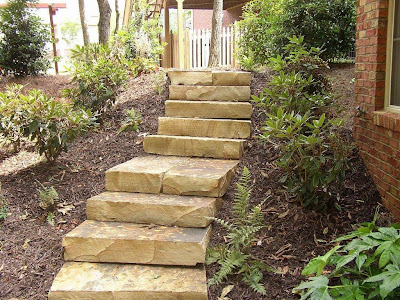 OUTDOOR STAIRS DESIGN FOR YOUR BACKYARD - BACKYARD and PATIOS on Backyard Stairs Ideas id=86870